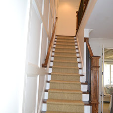 Staircase by Slate Barganier Building, Inc
