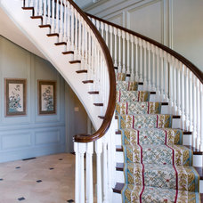Traditional Staircase by Linn Gresham Haute Decor