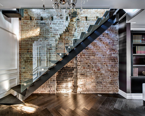 Houzz Industrial Staircase Design Ideas Amp Remodel Pictures