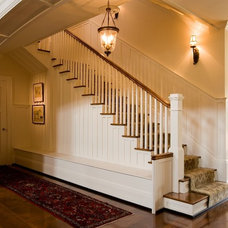 Farmhouse Staircase by Eric Stengel Architecture, llc