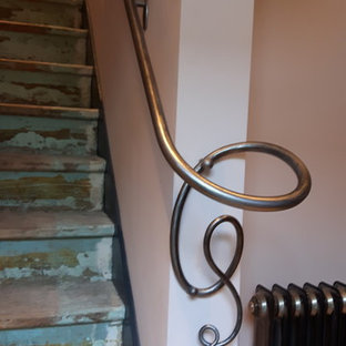 Hot forged  interior handrail
