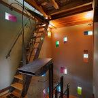 maison de ville cherbourg contemporain escalier. Black Bedroom Furniture Sets. Home Design Ideas