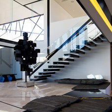 Contemporary Staircase by M Square Lifestyle Design