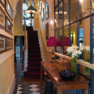 Example of a classic staircase design in London