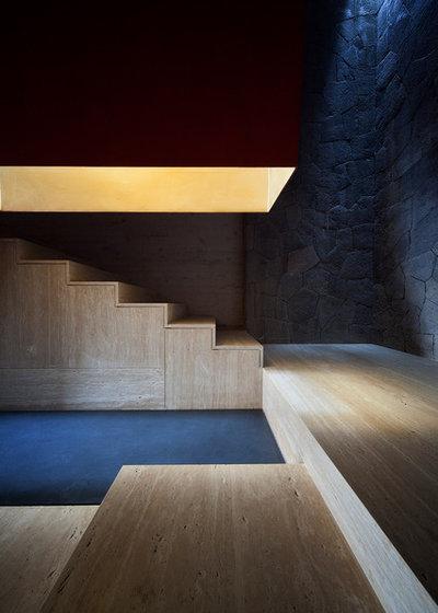 モダン 階段 by Eduardo Hernandez Ch. Architect / CHK Arquitectura