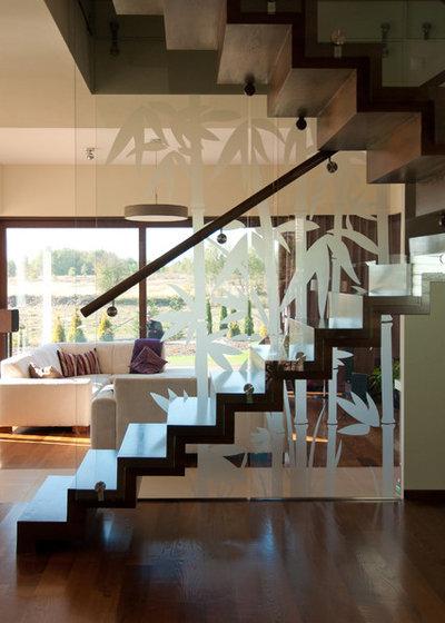 Modern Staircase by studio A:W
