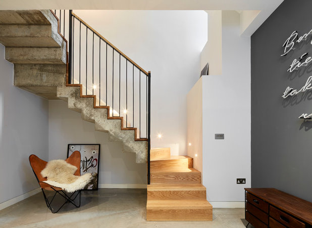 Industrial Staircase by ade architecture ltd
