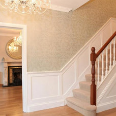 Traditional Staircase by Ventura Interior Design
