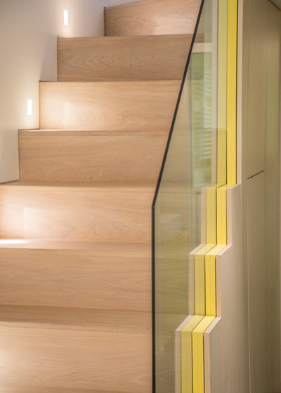 Contemporary Staircase by Studio 29 Architects
