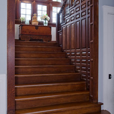 Traditional Staircase by James R. Salomon Photography