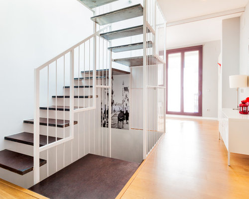 Escaleras houzz for Modelos de gradas
