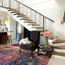 Eclectic Staircase by Dana Gordon + Roy Gordon: Architecture Studio