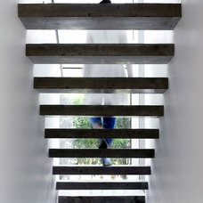 Modern Staircase by sharon neuman architects