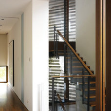 Contemporary Staircase by Taylor Smyth Architects