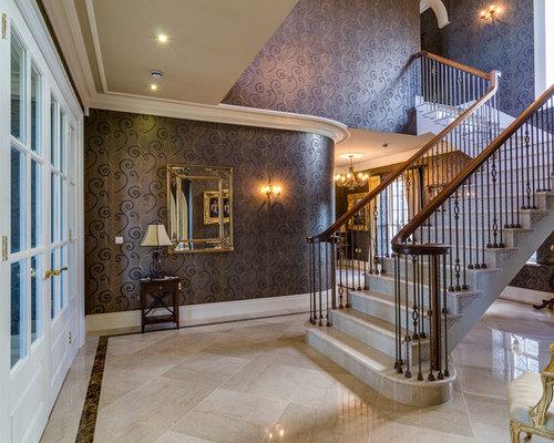Photos et idées déco de grands escaliers papier peint intissé
