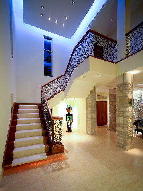 Unique Stair Railing Home Design Ideas, Pictures, Remodel and Decor