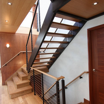 House on Morrow Road - main stair