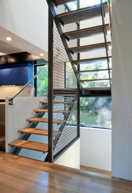 Modern Staircase by McInturff Architects