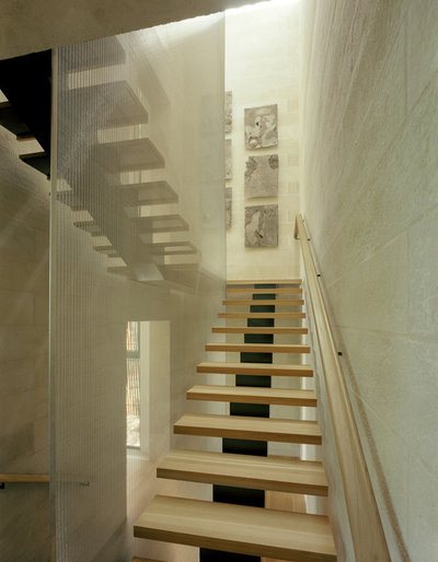 contemporary staircase by page - Building Stairs
