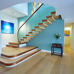 House overlooking Salcombe Bay, Staircase