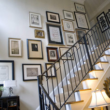 Eclectic Staircase by Katherine Robertson Photography