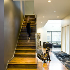 modern staircase by Cynthia Lynn Photography