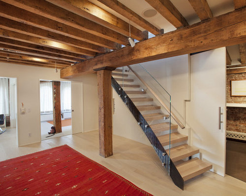 basement exposed beams home design ideas renovations photos