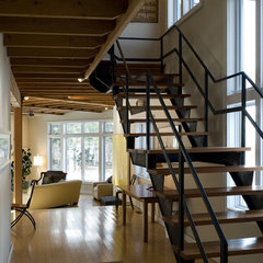 modern staircase by Battle Associates, Architects
