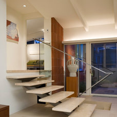 Modern Staircase by roth sheppard architects