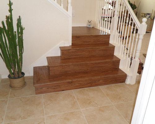 Luxury Vinyl Tile Lvt Stairs