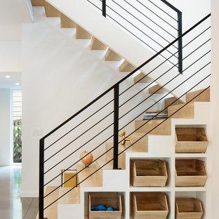 Exempel på en modern trappa