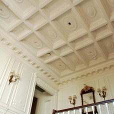 Traditional Staircase by Hyde Park Mouldings