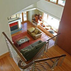 contemporary staircase by Issaquah Cedar & Lumber