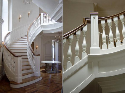Traditional Staircase by Doma Architects, Inc.
