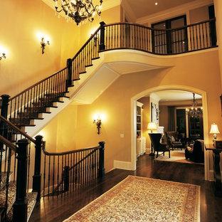 Exempel på en klassisk trappa