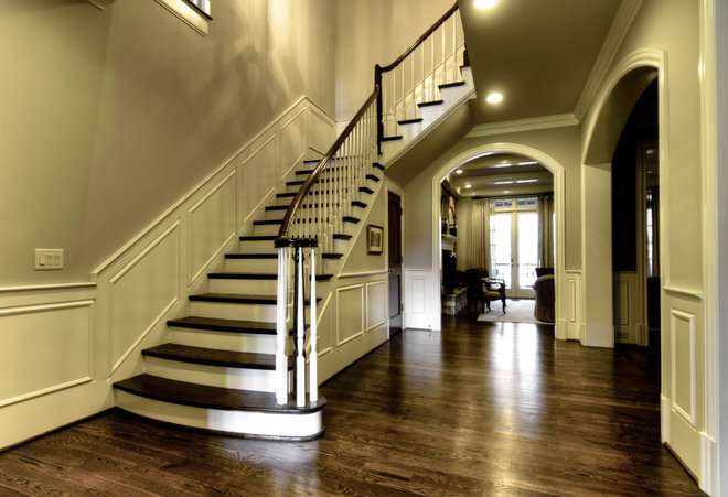 Traditional Staircase by Image Design Stairs
