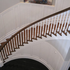 Traditional Staircase by Roseland Stair Works