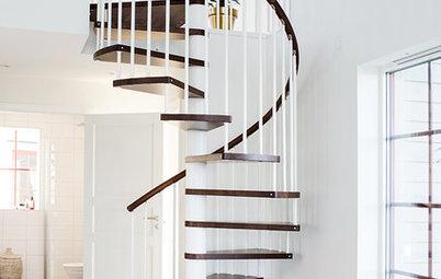 Elegance mellem etagerne: 11 Inspirerende spindeltrapper