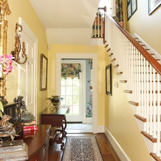 Traditional Staircase by Cynthia J. Baker, Allied ASID