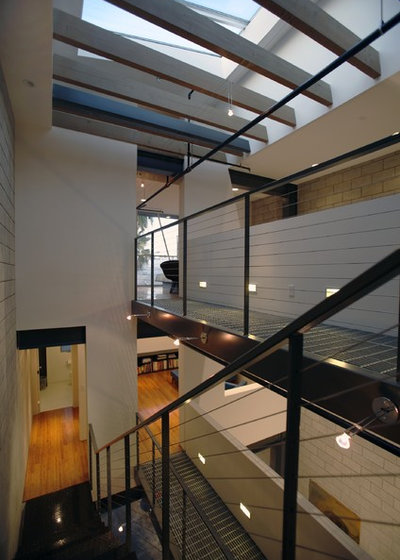 Modern Staircase by Equinox Architecture Inc. - Jim Gelfat