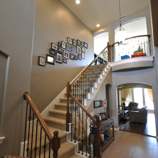 Staircase - traditional staircase idea in Dallas