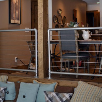 Interior - Horizontal Steel Railing Systems
