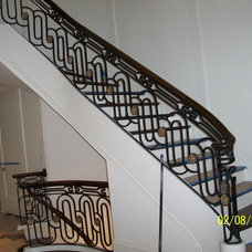Mediterranean Staircase by Womack Iron
