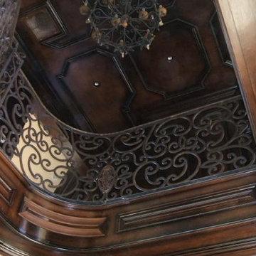 Interior Iron Handrail