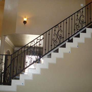 Interior Iron Stair Railing