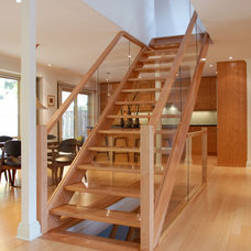 Contemporary Staircase by Structured Creations Inc