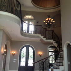 Traditional Staircase by Gabay Custom Builders, INC