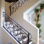 Stairs Traditional Landscape Las Vegas By Pebble