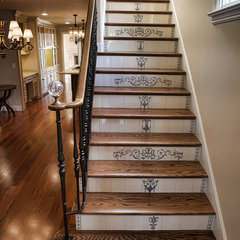 traditional staircase by Universal Developing