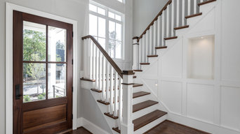 Interior Staircase for Home in Brookhaven Estates, Raleigh, NC